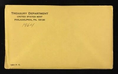 1964 U.s. Mint Proof Set - Envelope Sealed & Unopened