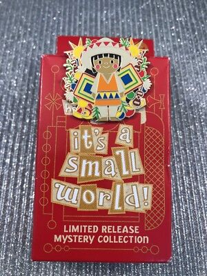 Disney Trading Pin 131557 DLR Holiday 2018 Small World Mystery Mexican Girl Boy