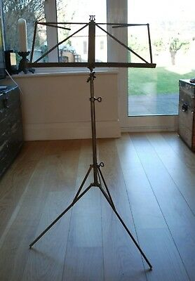 VINTAGE Music Stand / adjustable / folding / portable / compact