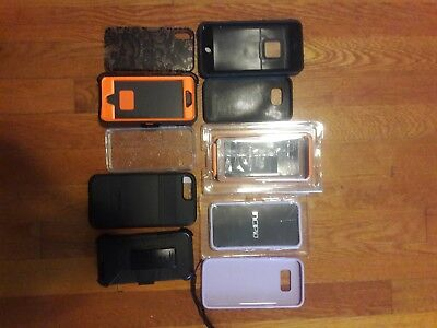 Lot Of 10 Randomly Selected iPhone Cases