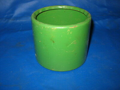 Old Vintage John Deere Model E Hit Miss Gas Engine Tin Pulley