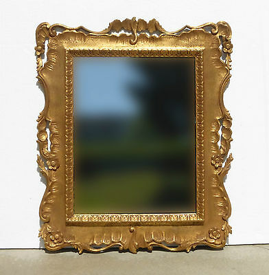 """Gorgeous 42"""" Vintage Ornate French Provincial Wall Mantle Mirror Country Cottage"""