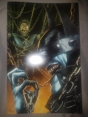The Batman Who Laughs #1 VIRGIN VARIANT COVER A Mico Suayan Unknown Comics RARE