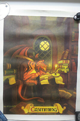 1980s (SET OF FIVE) HILDEBRANDT CAMPUS POSTER SERIES FROM THE COCA COLA COMPANY