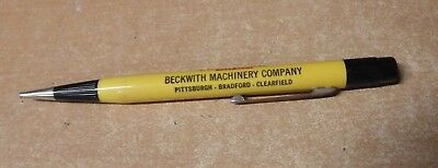 Vintage Beckwith Caterpillar Tractor Co. Mechanical Pencil Advertising Nice