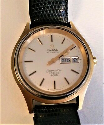 Vintage Omega Seamaster Cosmic 2000 Men S Wrist Watch Automatic