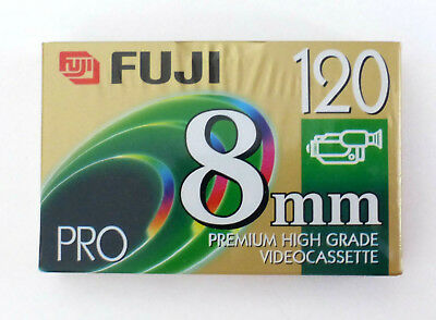 Sealed FUJI 120 Pro High Quality 8mm Videocassette Tape