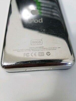 Classic 80GB Apple iPod Video 5th Generation (Black)