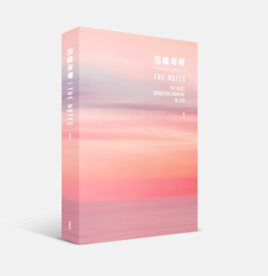 [Pre-order] 花樣年華 THE NOTES 1 (E) BTS BOOK FREE TRACKING NUMBER English Ver