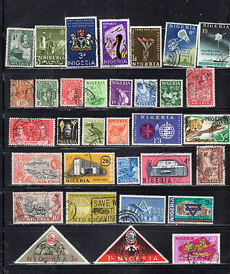 Nigeria  Africa Stamps Canceled  Used   Lot 37675