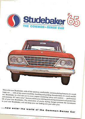 1965 Studebaker dealer sales brochure