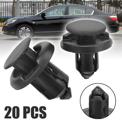 20x Plastic Retainer Bumper Rivet Trim Clip 8mm&10mm For Honda Civic/Accord