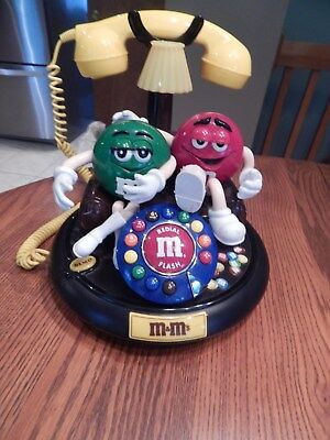 M & M's Characters Animated Talking Light Up Telephone Phone