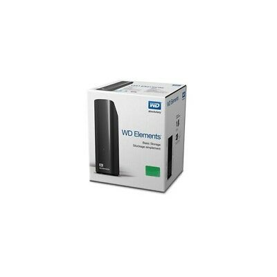 "WD Elements Desktop 10TB 3.5"" USB 3.0 HDD Storage External Hard Drive Black NEW"