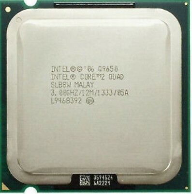 Intel Core 2 Quad CPU Q9650 3.0GHz LGA 775