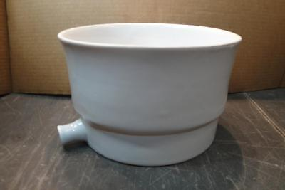 Buchner Table Top Porcelain Funnel approx 1900 - 2000mL Chipped Outlet Chemglass