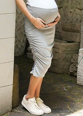 NEW - Trimester® - Brad Cross Hem Maternity Skirt - Pregnancy Skirt