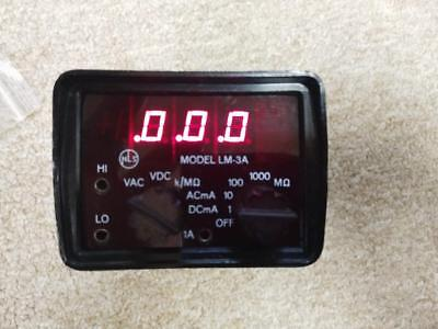 AWESOME RARE Vintage Non Linear Systems LM-3A Multimeter