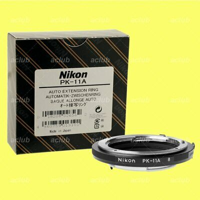 Genuine Nikon PK-11A Auto Extension Tube Ring 8mm for AI Ai-s Lens Close-up