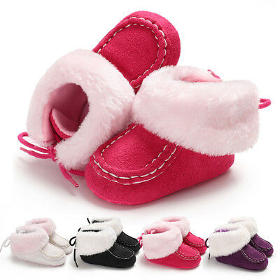 Newborn Baby boots Toddler Infant Kid Boy Girl Crib Shoes