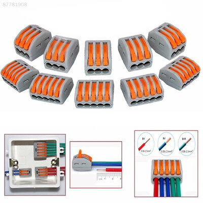 1F21 Reusable Terminal Block Wire Electronic Cable Cord Line Connector 3Pin/5Pin