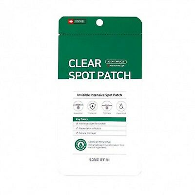 SOMEBYMI NEW 30 Days Miracle Tea Tree Clear Spot Patch [10mmx9, 12mmx9] 1sheet
