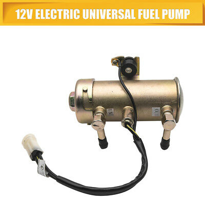 12V Universal Car Auto Electric Inline Oil Diesel Petrol Fuel Pump Low Pressure