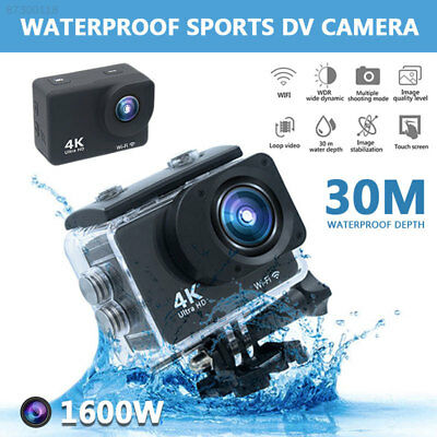 7FF2 Ultra 4K FULL HD 1080P Action Camera WIFI Outdoor 2''LCD Portable