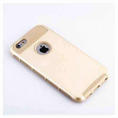 Gold Case Hybrid Shockproof Hard Heavy Duty Rubber for iPhone 6 6S Q9O4