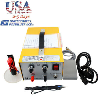 Pulse Sparkle Spot Welder Jewelry Welding Machine Gold Silver Platinum USA STOCK