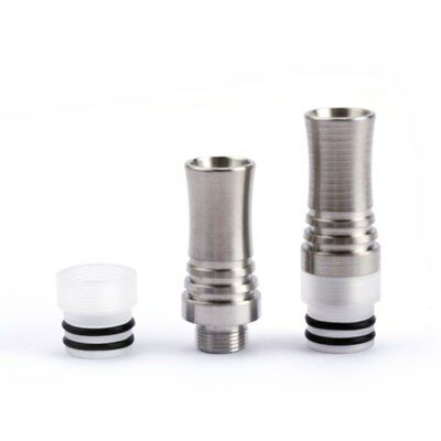 NEW Coil Father 510 9 Holes Long Drip Tip Prevent Mouthpiece For RDA RTA Tank