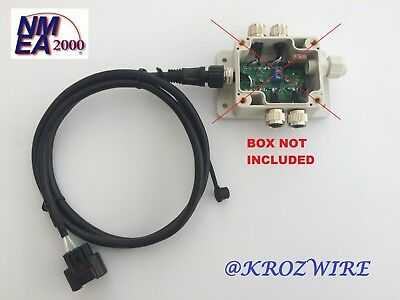Lowrance Yamaha Engine Interface FOR Multiport box for 4 devices