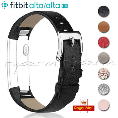 For Fitbit Alta / Alta HR Genuine Leather Watch Replacement Band Wrist Strap NEW