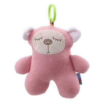 Baby Kids Rattle Plush Animals Stroller Pram Bed Music Hanging Bell Toy Doll LA