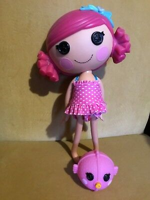 Lalaloopsy Coral Sea Shells Full Size Doll & Pet Puffer Fish, Pink Hair