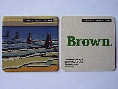 Adnams Beers From The Coast Beermat Coaster 1