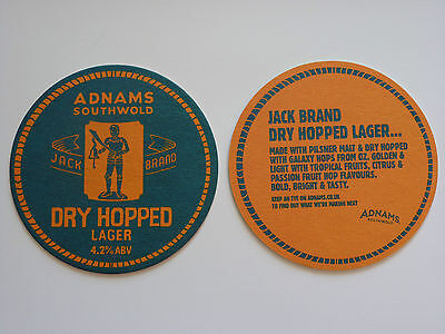 Adnams Dry Hopped Lager Beermat Coaster