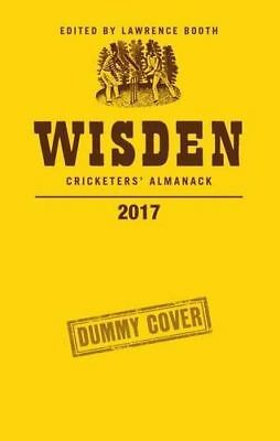Wisden Cricketers' Almanack 2017 by Lawrence Booth