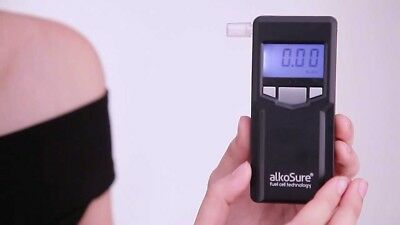 Portable Personal Fuel Cell Technology Breathalyser Alcohol Tester