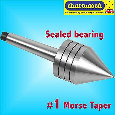 Charnwood 1MTTC 1 Morse Taper Lathe Revolving Tail Centre wood blank turning