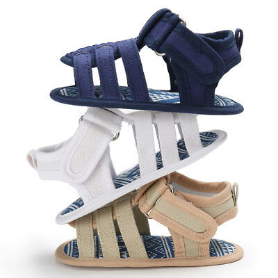 Canvas Crib Summer Baby Infant Shoes Sandals Boy Soft Neugeborenes Sole Beach