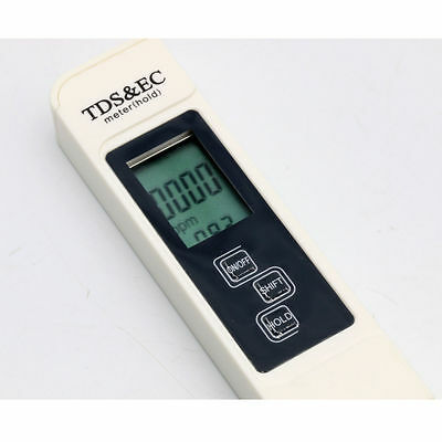 Digital TDS & EC PPM Meter Tester Water Purity Quality Hardness Filter Pen Temp