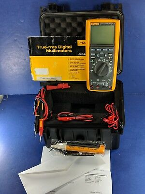 Fluke 289 True RMS Industrial Logging Multimeter, Very Good, Calibrated 8-2019