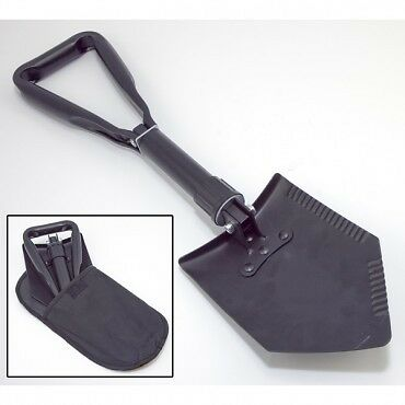 Jeep Land Rover Heavy Duty Tri-Fold Recovery Shovel, Multi-Use For Off Road