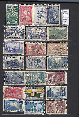 Stamps  Lot France Used (L33061)
