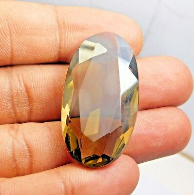 41.20 ct Beautiful Smokey Topaz AAA Oval cut  Natural Loose Gemstones  as