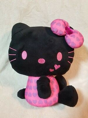 Hello Kitty Plush Doll (Black) 11inch From Japan
