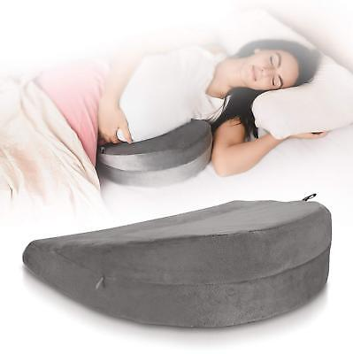 Pregnancy Wedge Pillow for Maternity – Supports Your Belly, Back, Leg, Hip, Knee