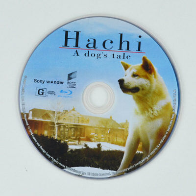 Hachi: A Dogs Tale (Blu-ray Disc, 2010) Richard Gere - DISC ONLY