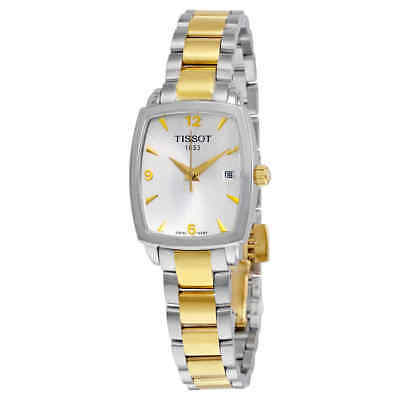 Tissot Everytime Silver Dial Two-tone Watch T0579102203700